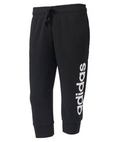 "Damen Trainingshose / Sweathose ""Essentials Linear 3/4 Pant"""