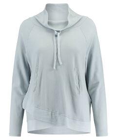Damen Sweatshirt aus Baumwolle Langarm