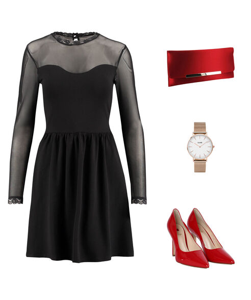 Outfit - Sirenenrot