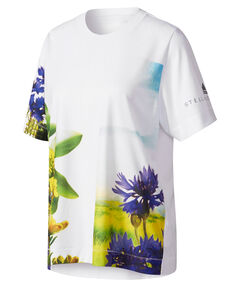 "Damen Laufshirt ""Essentials Nature Print Tee"" Kurzarm"