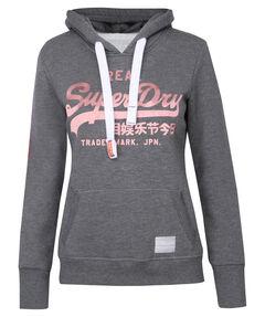"Damen Sweatshirt ""Vintage Logo Satin Entry Hood"""