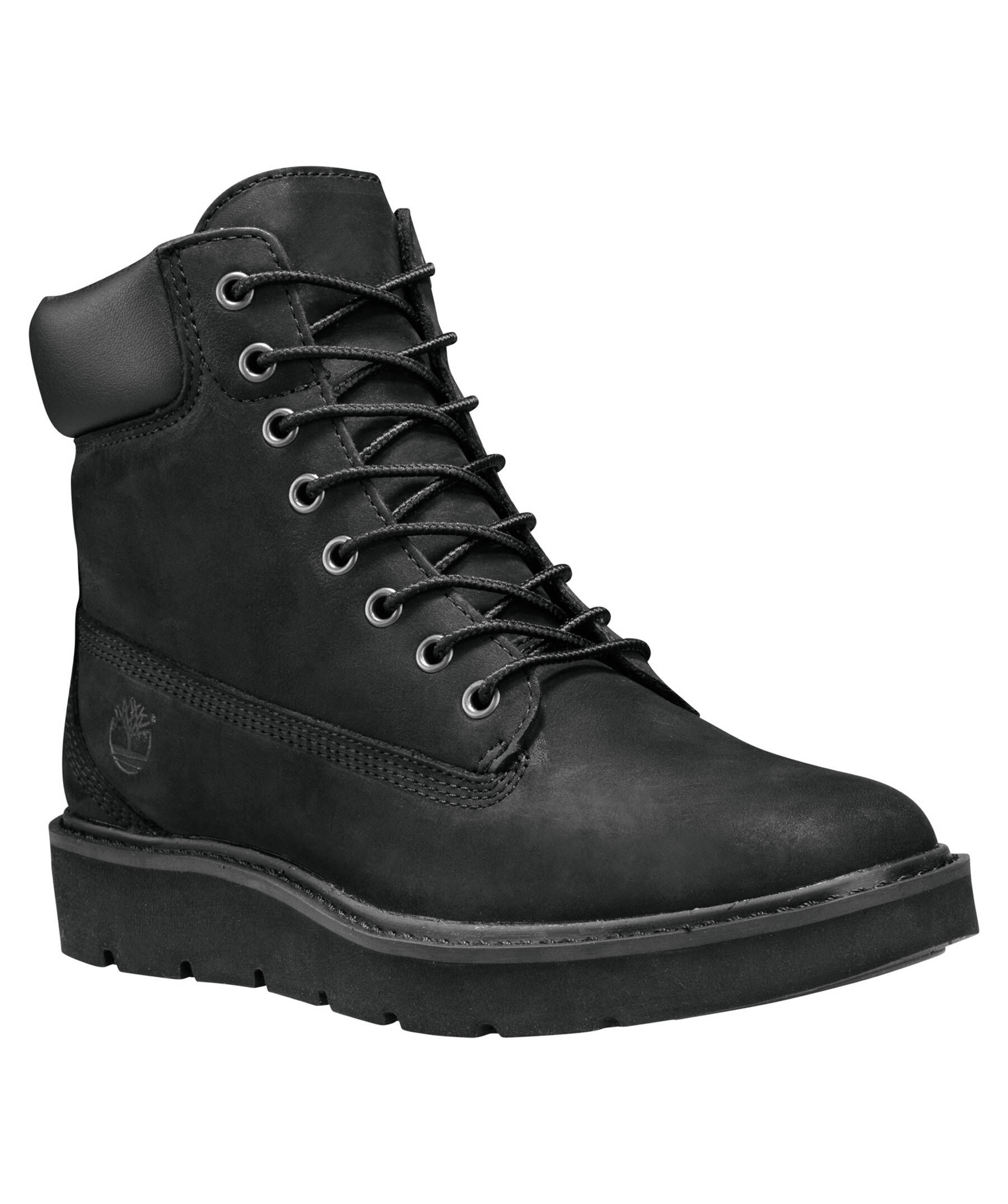 timberland damen stiefel kenniston 6 inch lace up black schwarz ebay. Black Bedroom Furniture Sets. Home Design Ideas
