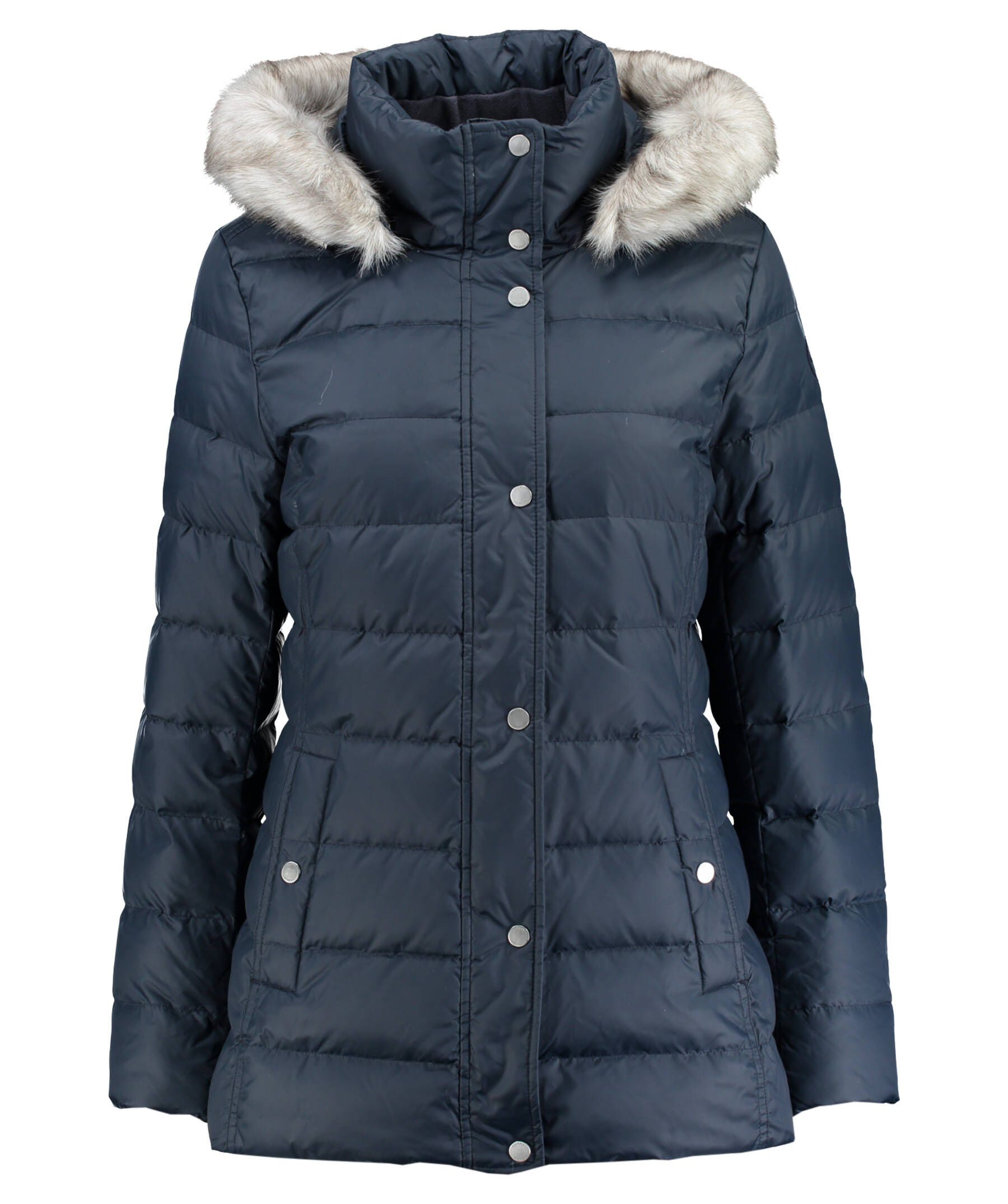 tommy hilfiger damen daunenjacke tyra down jacket blau. Black Bedroom Furniture Sets. Home Design Ideas