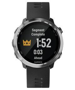 GPS-Laufuhr ´´Forerunner 645´´ schwarzes Armband