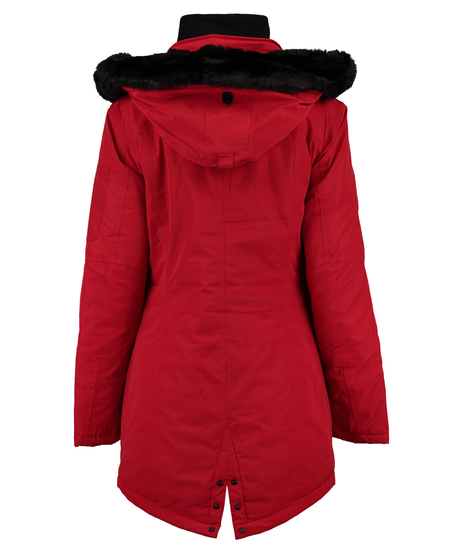 wellensteyn damen parka schneezauber sz 382 rot blau. Black Bedroom Furniture Sets. Home Design Ideas