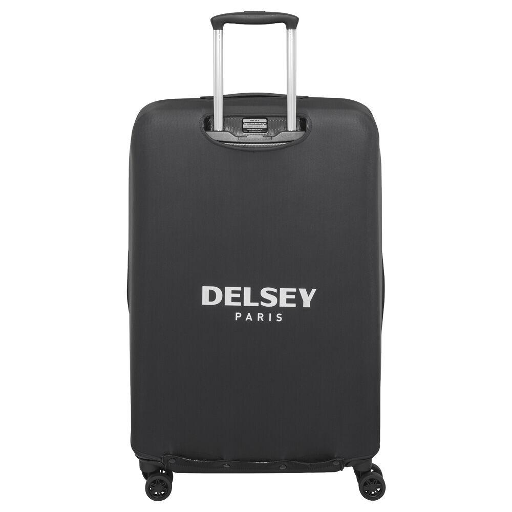Tn 2016 noir xl delsey for Housse protection valise