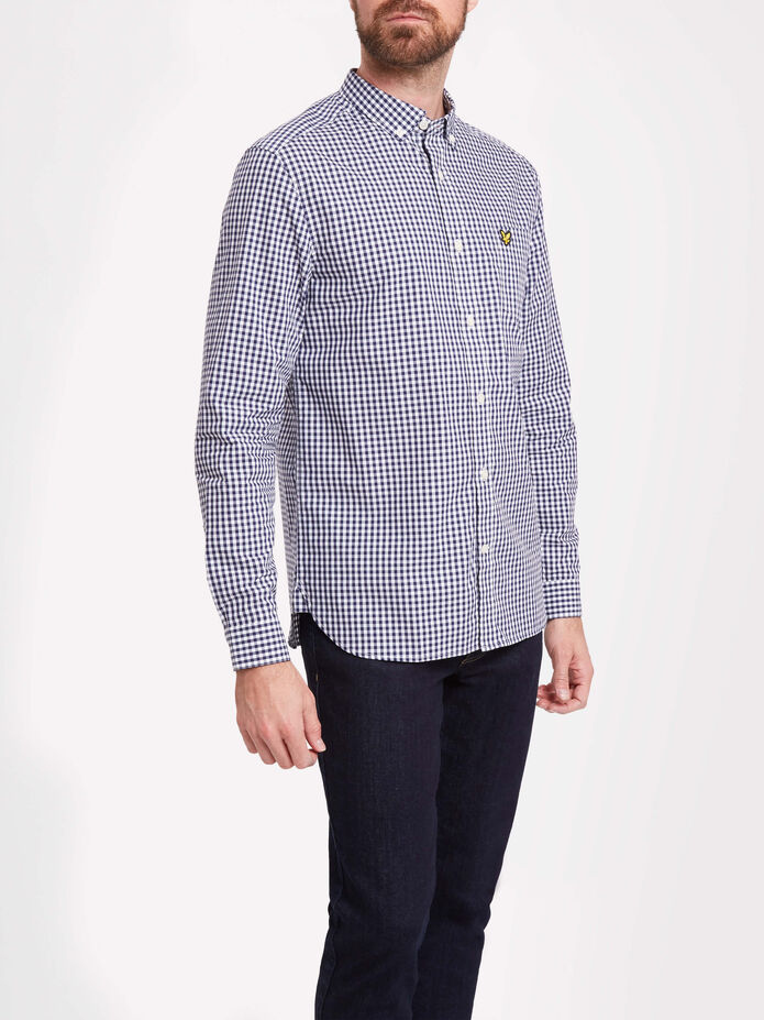 Gingham Shirt, , hi-res