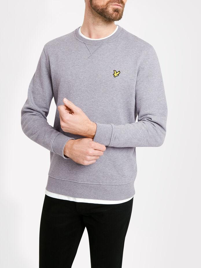 Crew Neck Sweatshirt, , hi-res
