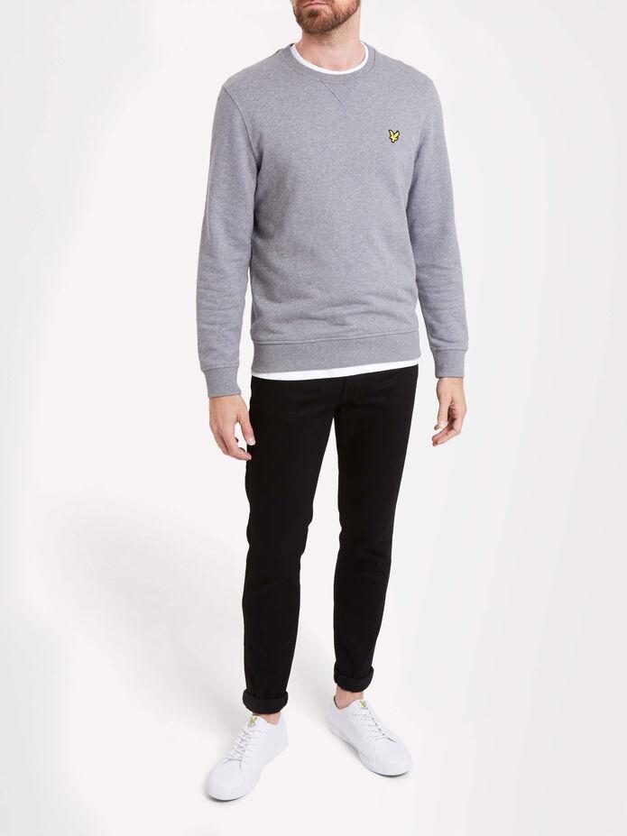 Black Slim Fit Jeans, , hi-res