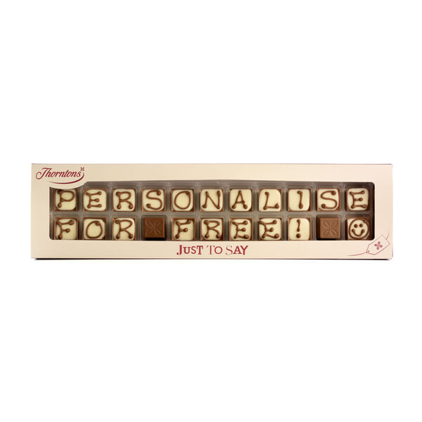 Box of 22 Alphabet Truffles