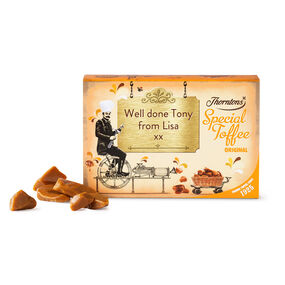 Personalised Original Toffee Box