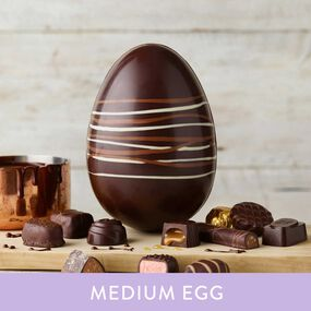 Classic Collection Dark Easter Egg  (294g)