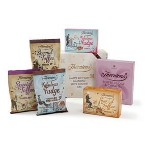 Personalised Toffee & Fudge Giftset