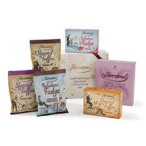 Personalised Toffee & Fudge Giftset