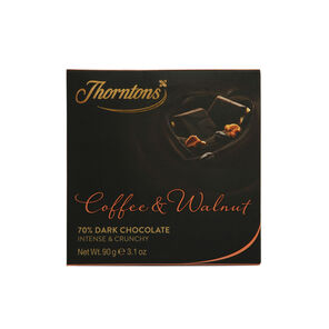 Coffee & Walnut Chocolate Block (90g)