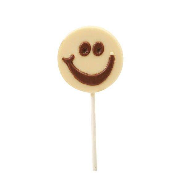 White Chocolate Smiles Lolly