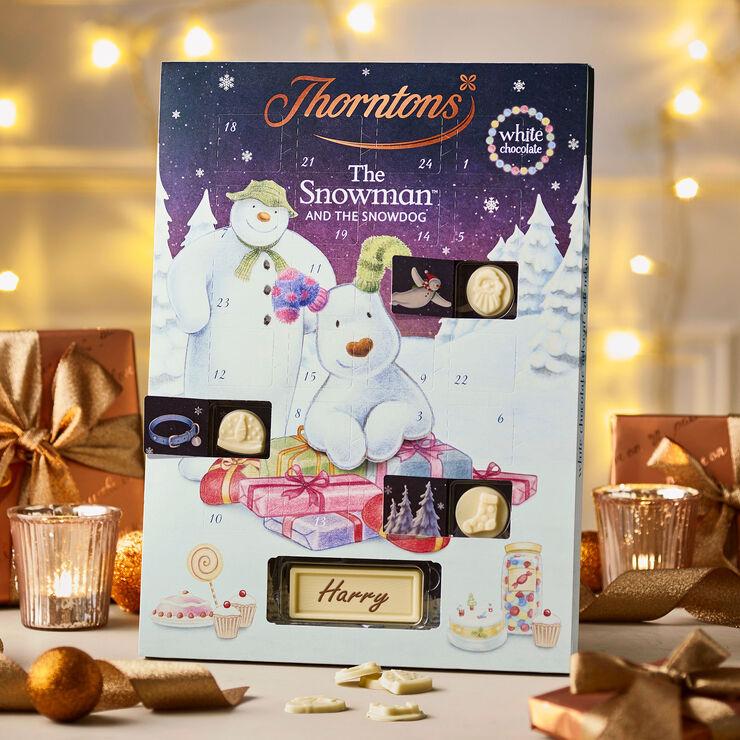 White Chocolate Snowman Advent Calendar