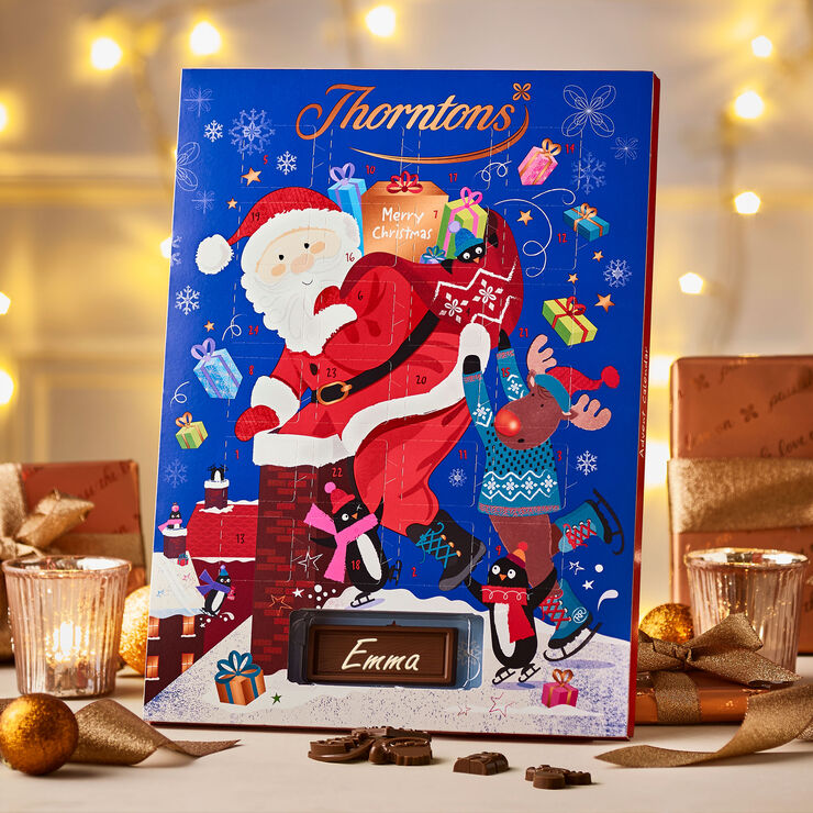 Santa and Reindeer Advent Calendar
