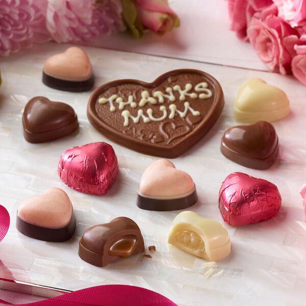 Personalised Heart Chocolate Box