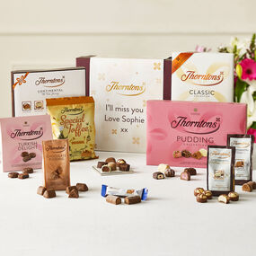 Personalised Best Sellers Chocolate Hamper