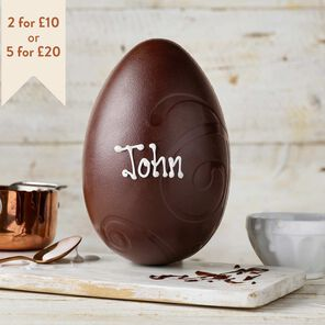 Large Dark Chocolate Easter Egg (265g)