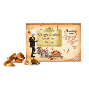 Personalised Brazil Nut Toffee Box
