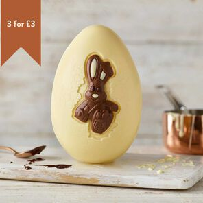 White Chocolate Harry Hopalot Easter Egg (151g)