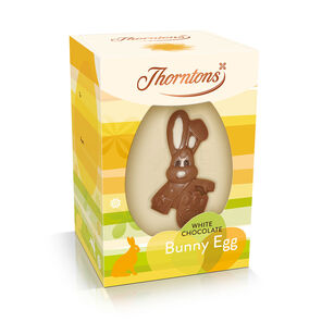 White Chocolate Bunny Easter Egg