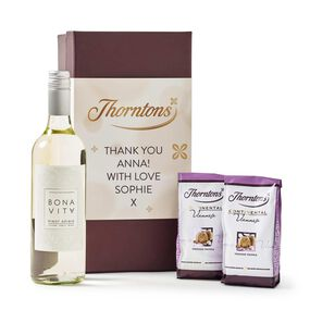 Personalised White Wine Hamper