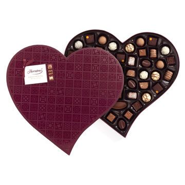 Continental Chocolate Heart (557g)