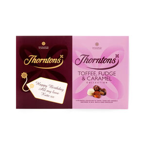 Personalised Toffee, Fudge & Caramel Box (274g)