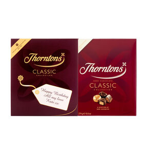 Personalised Dark Chocolate Classic Box (274g)