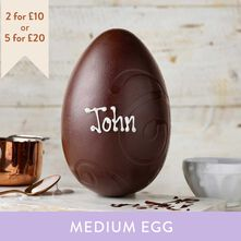 Dark Chocolate Easter Egg (265g)
