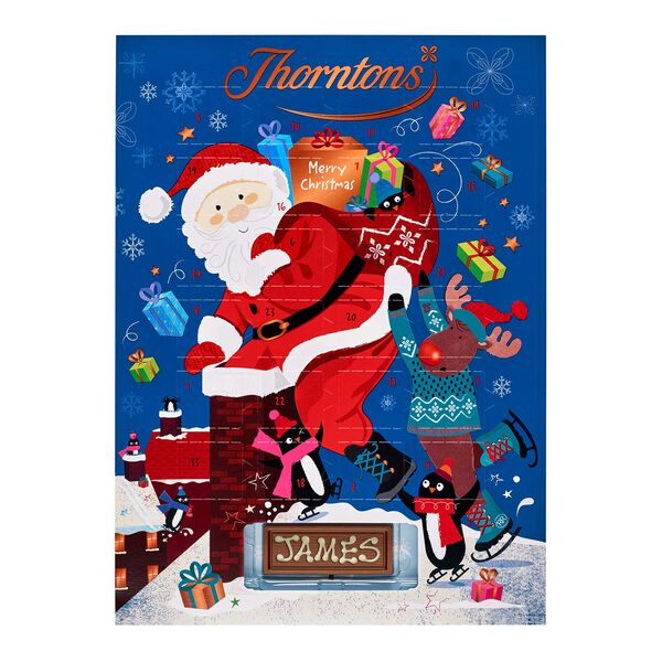 Santa and Reindeer Advent Calendar