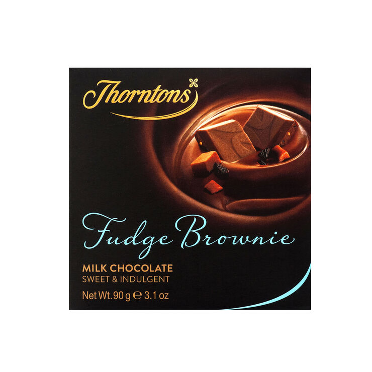Fudge Brownie Milk Chocolate Block (90g)