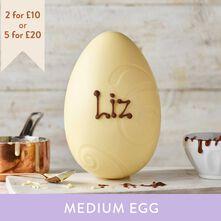 White Chocolate Easter Egg (265g)