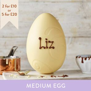 White Chocolate Easter Egg (265g)