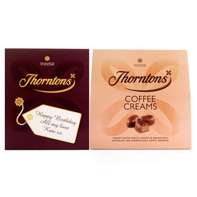 Personalised Coffee Creams Box