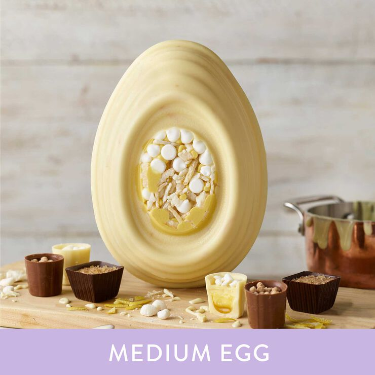 Lemon Meringue Pie Inspired Easter Egg (342g)