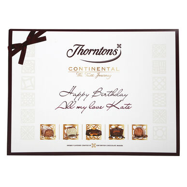 Personalised Continental Gift Collection (284g)