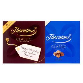 Personalised Milk Chocolate Classic Box (511g)