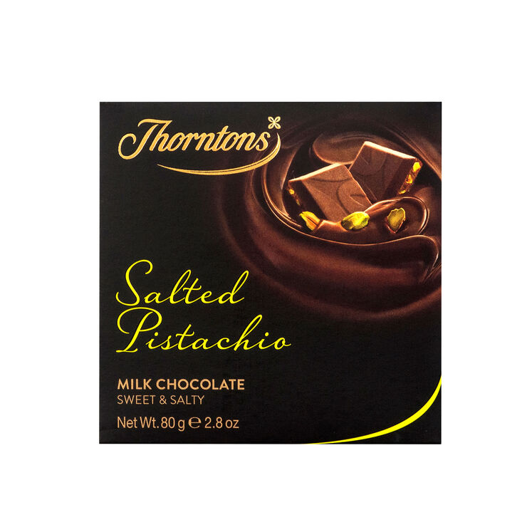 Salted Pistachio Chocolate Block