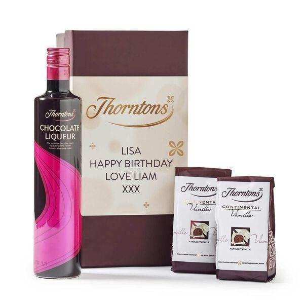 Personalised Chocolate Liqeur Hamper