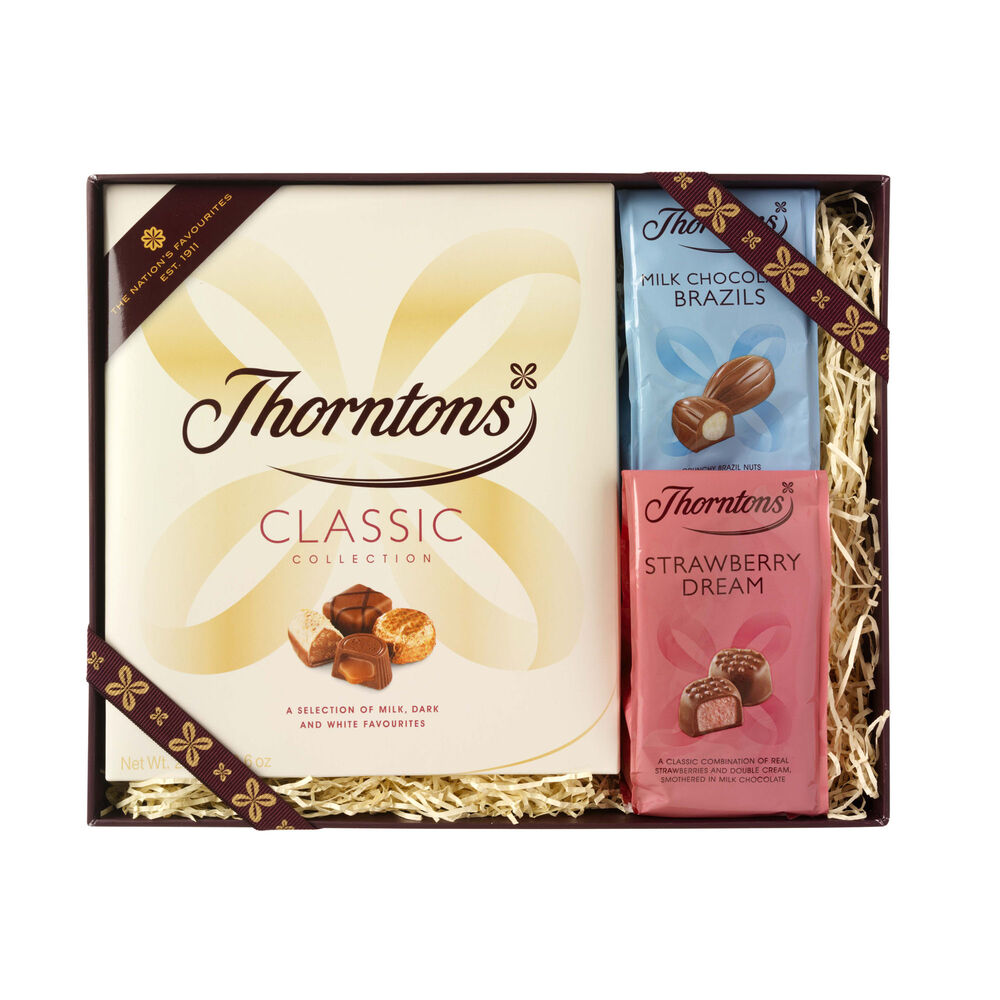 Wedding Gift For Someone Who Has Everything Uk : Classic Giftset Chocolate Giftsets Thorntons