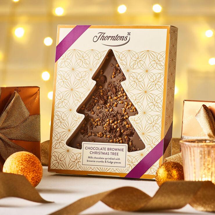 Brownie Christmas Tree Plaque