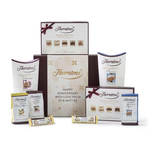 Personalised Continental Taste Journey Hamper