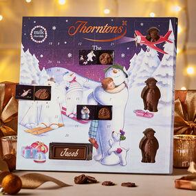 Large Snowman Advent Calendar