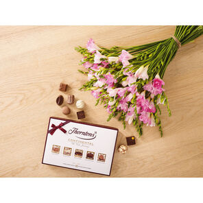 Pink Freesia and 142g Continental