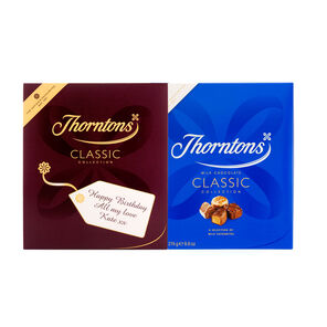 Personalised Milk Chocolate Classic Box (274g)