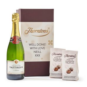 Personalised Champagne Hamper